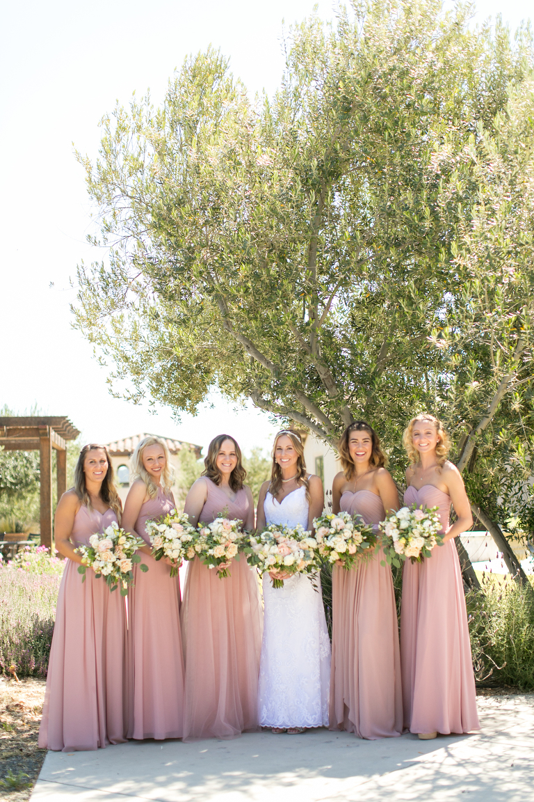 Fine art wedding at Croad Vineyard Wedding by Paso Robles Wedding Florist Flowers By Denise